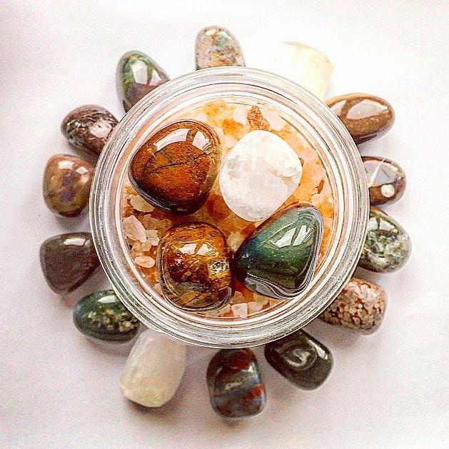 Make Your Own New Moon Bath Salts