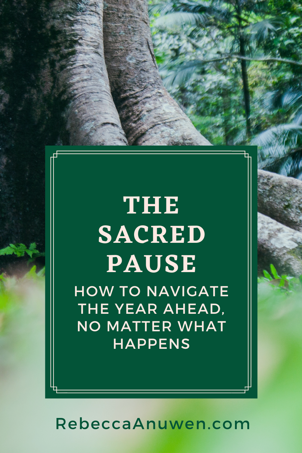 14 The Sacred Pause - how to navigate the year ahead no atter what happens pinterest