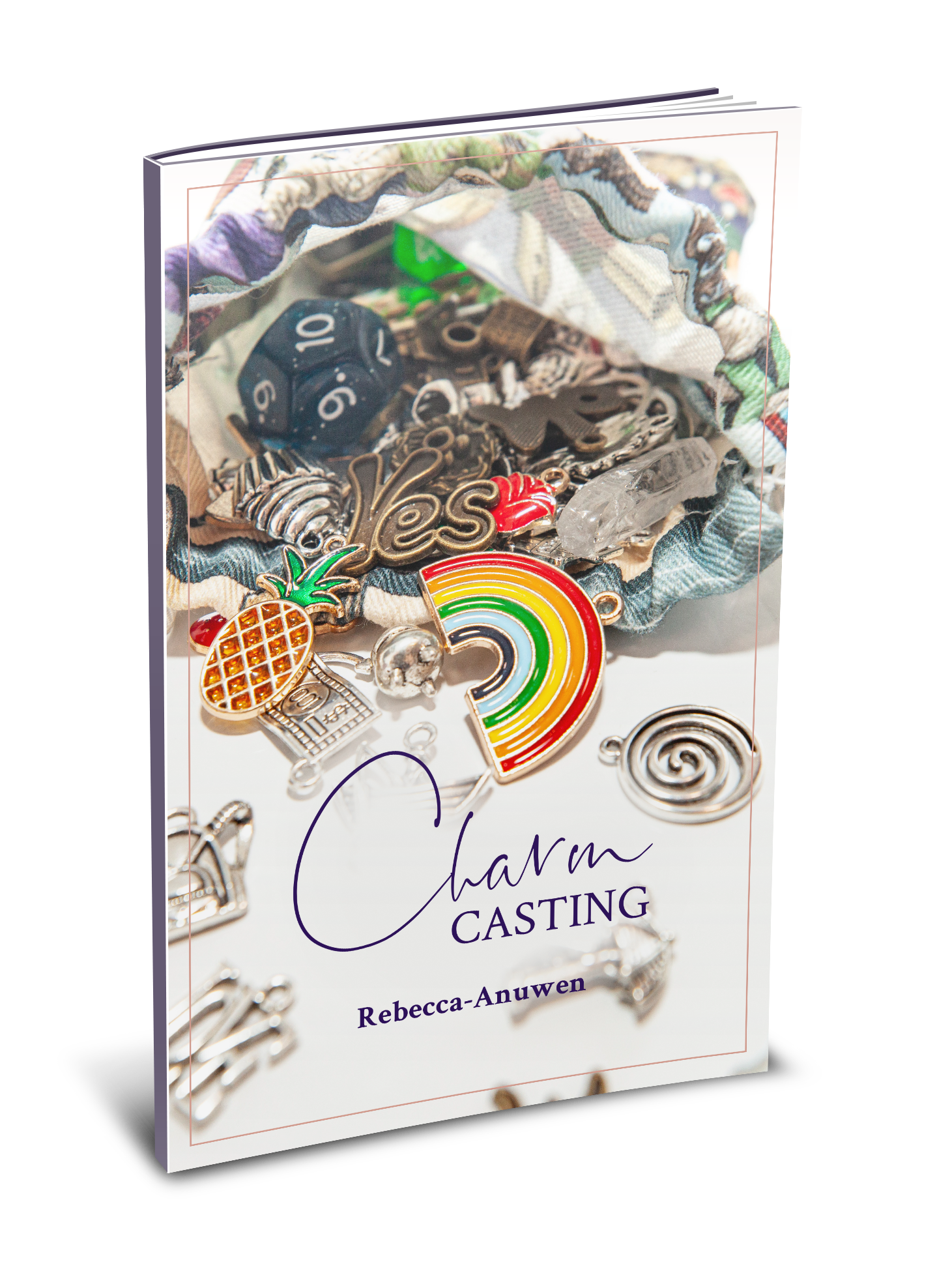Charm casting book by Rebecca Anuwen