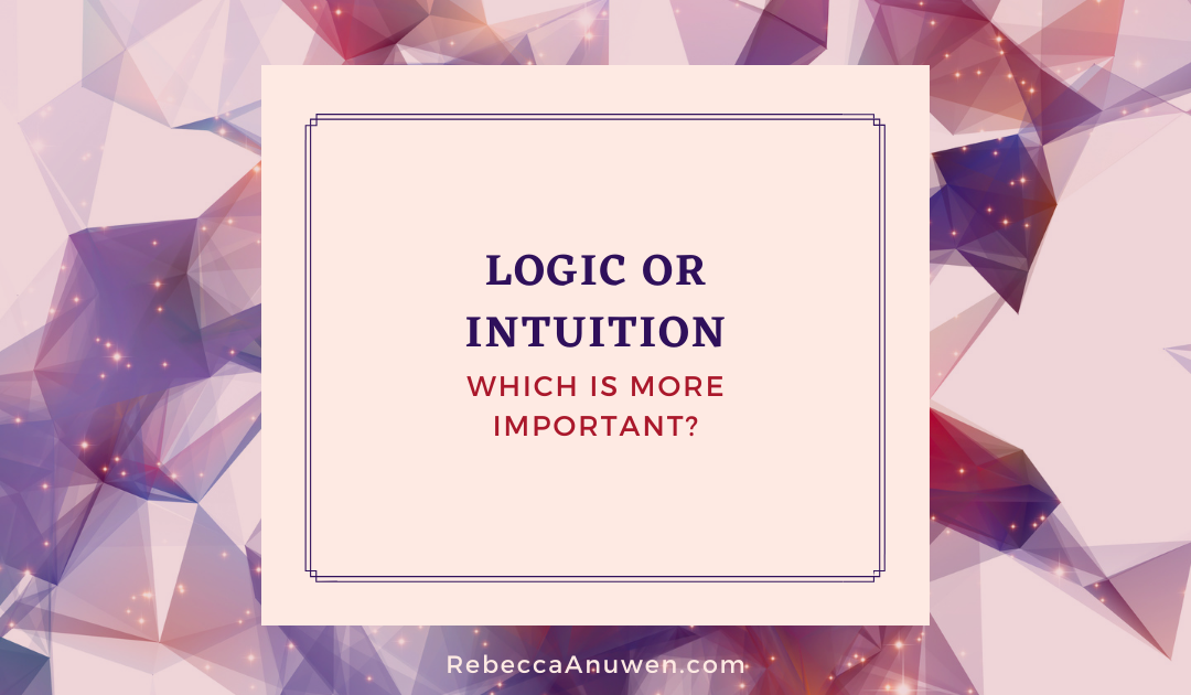 Logic or Intuition, Which is More Important?
