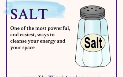 Cleanse Your Energy with Salt