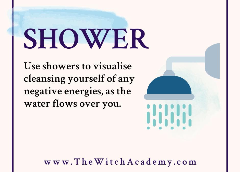 Washing Away Negativity