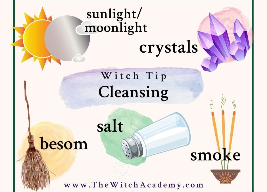 Witchy ways to cleanse your space and clear your energy